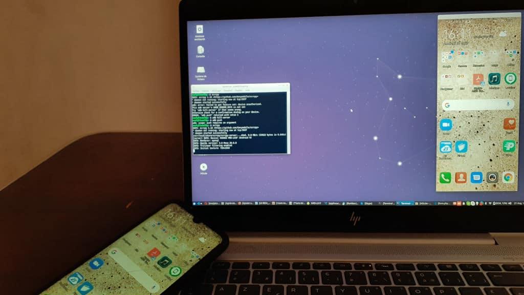 Contrôler et mettre en miroir un téléphone Android dans Ubuntu