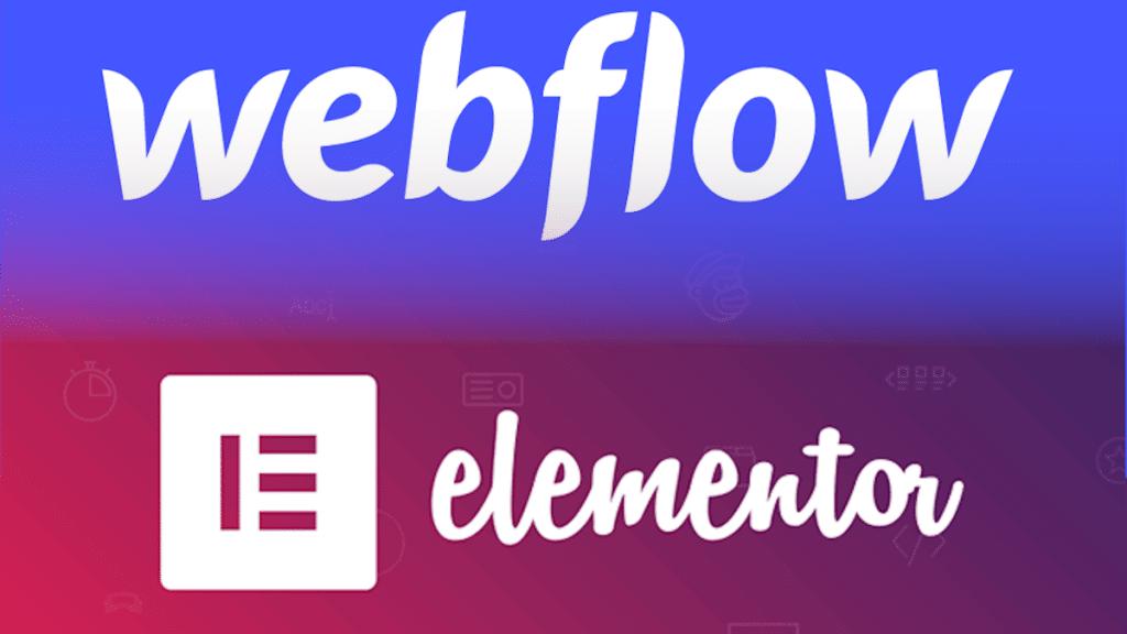 Webflow ou Elementor pour créer votre site web