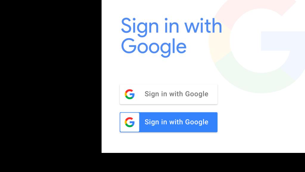 Authentification en utilisant les identifiants Google