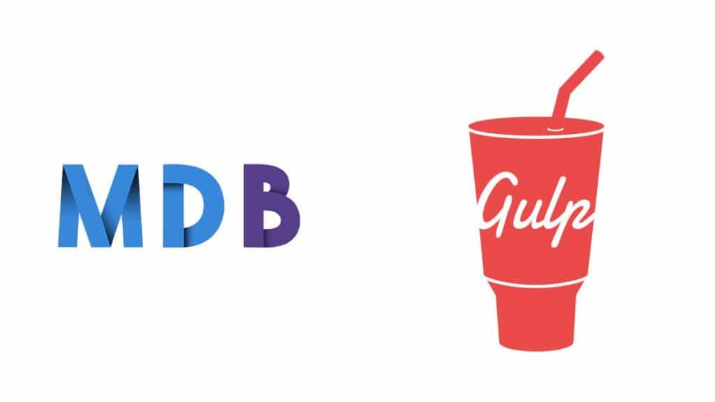 Créer un site web avec MDBootstrap 4 et Gulp | smart-tech.mg